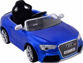 Masinuta electrica 12 V Audi RS5 cu telecomanda Blue Masinute si vehicule pentru copii