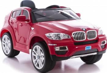 Masinuta electrica BMW X6 Red cu telecomanda Masinute si vehicule pentru copii