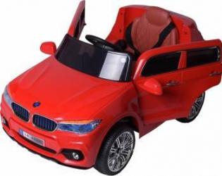 Masinuta electrica cu roti din cauciuc Super Class Jeep Rosu Masinute si vehicule pentru copii