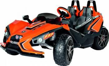 Masinuta Electrica pentru Copii Peg Perego Polaris Slingshot 12V Orange Masinute si vehicule pentru copii
