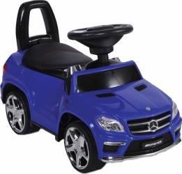 Masinuta fara pedale Mercedes Benz GL63 AMG Blue Masinute si vehicule pentru copii