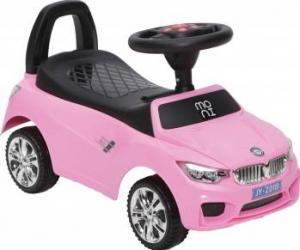 Masinuta fara pedale Ride and Go Model B Pink