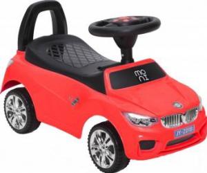 Masinuta fara pedale Ride and Go Model B Red Masinute si vehicule pentru copii