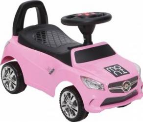 Masinuta fara pedale Ride and Go Model C Pink Masinute si vehicule pentru copii