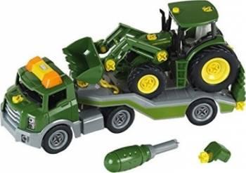 Masinuta Klein John Deere Traktor Trailer Jucarii