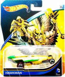 Masinuta Mattel Hot Wheels Masina Lui Hawkman