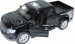 pret preturi Masinuta metalica Ford F-150 SVT Raptor deschide usile lumini functionale scara 1 32 negru