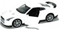 pret preturi Masinuta metalica Nissan GT-R deschide usile scara 1 32 alb