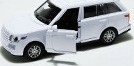 pret preturi Masinuta metalica Range Rover deschide usile scara 1 32 alb
