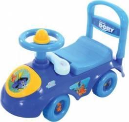 Masinuta pentru copii de impins Finding Dory cu spatiu depozitare Masinute si vehicule pentru copii