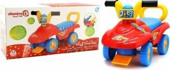 Masinuta pentru copii de impins Globo Vitamina G interactiva Buggy multicolora c Masinute si vehicule pentru copii