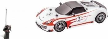 Masinuta telecomanda Mondo pentru copii Porsche 918 Spyder Salzburg Racing scara 1 16 cu acumulatori Jucarii cu Telecomanda