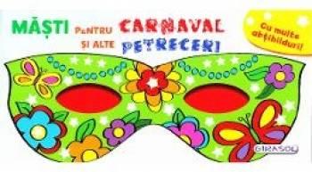 Masti pentru Carnaval si alte Petreceri