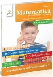 Matematica - clasa 1 - Matematica si explorarea mediului - Eduard Dancila Ioan Dancila