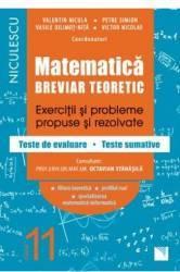 Matematica - Clasa 11 - Breviar teoretic filiera teoretica profilul real mate-info - Petre Simion Carti