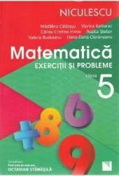 Matematica - Clasa 5 - Exercitii si probleme - Madalina Calarasu Viorica Baibarac Carti
