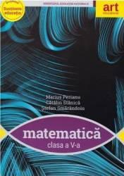 Matematica - Clasa 5 - Manual + CD - Marius Perianu Catalin Stanica