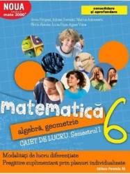 Matematica - Clasa 6. Partea I - Caiet de lucru. Consolidare - Sorin Peligrad Adrian Turcanu Carti