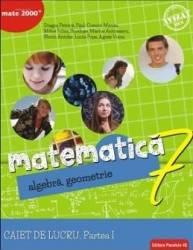 Matematica - Clasa 7 Partea I - Caiet Consolidare Ed.2018 - Dragos Petrica Paul-Cosmin Manea