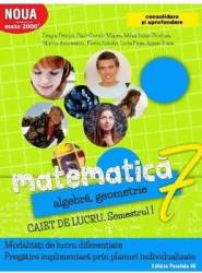 Matematica - Clasa 7. Partea I - Caiet de lucru. Consolidare - Dragos Petrica Paul-Cosmin Manea Carti