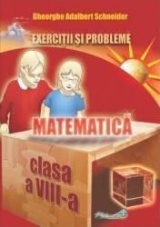 Matematica - Clasa 8 - Exercitii si probleme - Gheorghe Adalbert Schneider