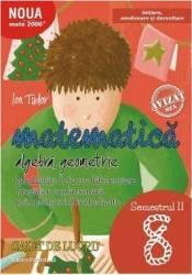 Matematica - Clasa 8. Sem. 2 - Caiet. Initiere - Ion Tudor