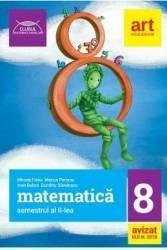 Matematica - Clasa 8 Sem.2 - Mircea Fianu Marius Perianu Ioan Balica