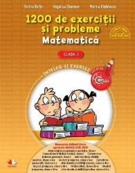 Matematica - Clasa a 1-a - 1200 de exercitii si probleme - Sorina Barbu Angelica Gherman