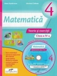 Matematica - Clasa a 4-a - Teorie si exercitii + CD - Iliana Dumitrescu Nicoleta Ciobanu