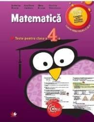 Matematica - Clasa a 4-a - Teste - Ecaterina Bonciu Ana Maria Canavoiu Carti