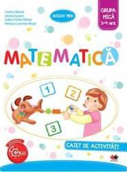 Matematica Caiet De Activitati Grupa Mica 3-4 Ani - Cristina Banica