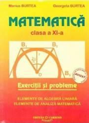 Matematica clasa 11 exercitii si probleme - Marius Burtea Georgeta Burtea
