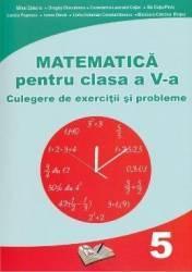 Matematica Clasa 5 - Culegere de exercitii si probleme - Mihai Zaharia Dragos Dinculescu
