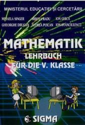 Matematica clasa 5 - Lb. germana - Mihaela Singer Gheorghe Drugan Mircea Radu Florea Puican Carti