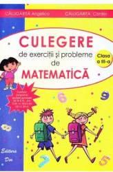 Matematica Clasa a 3-a Exercitii si probleme - Angelica Calugarita Catalin Calugarita