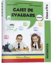 Matematica. Clasa a 4-a. Caiet de evaluare - Vasile Molan title=Matematica. Clasa a 4-a. Caiet de evaluare - Vasile Molan