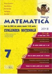 Matematica Clasa a 7-a Evaluare Nationala 2018 - Daiana Azamfirei Nadia Barbieru