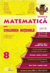 Matematica Clasa a 8-a Evaluare Nationala 2018 - Gina Caba Dana Radu