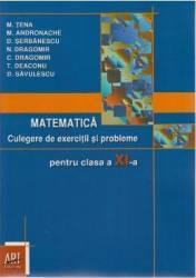 Matematica cls 11 Culegere de exercitii si probleme - M. Tena M. Andronache D. Serbanescu
