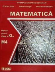 Matematica cls 11 M4 - Cristian Voica Mihaela Singer Mihai Sorin Stupariu Carti