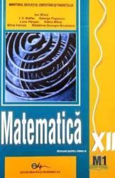 Matematica cls 12 M1 - Ion Mihai I.V. Maftei George Popescu