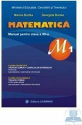 Matematica cls 12 m1 - Marius Burtea Georgeta Burtea