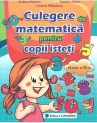 Matematica Cls 2 Culegere Pentru Copii Isteti - Rodica Dinescu