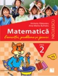 Matematica Cls 2 Exercitii probleme si jocuri - Victoria Paduraru Carti