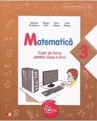 Matematica cls 3 caiet - Gabriela Barbulescu Olguta Calin