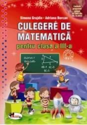 Matematica Cls 3 Culegere - Simona Grujdin Adriana Borcan