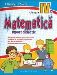 Matematica Cls 4 Suport Didactic - E. Dancila I. Dancila