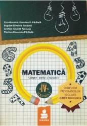 Matematica cls 4 volumul 1 auxiliar - Dumitru D. Paraiala