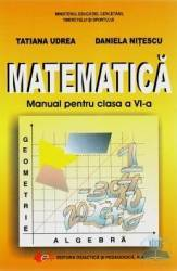 Matematica cls 6 ed.2016 - Tatiana Udrea Daniela Nitescu title=Matematica cls 6 ed.2016 - Tatiana Udrea Daniela Nitescu