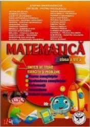 Matematica Cls 7 - Sinteze De Teorie. Exercitii Si Probleme - Stefan Samarandache